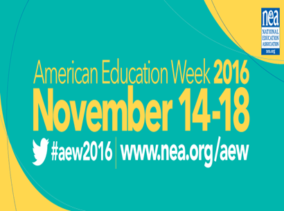 AMERICAN EDUCATION WEEK 2016