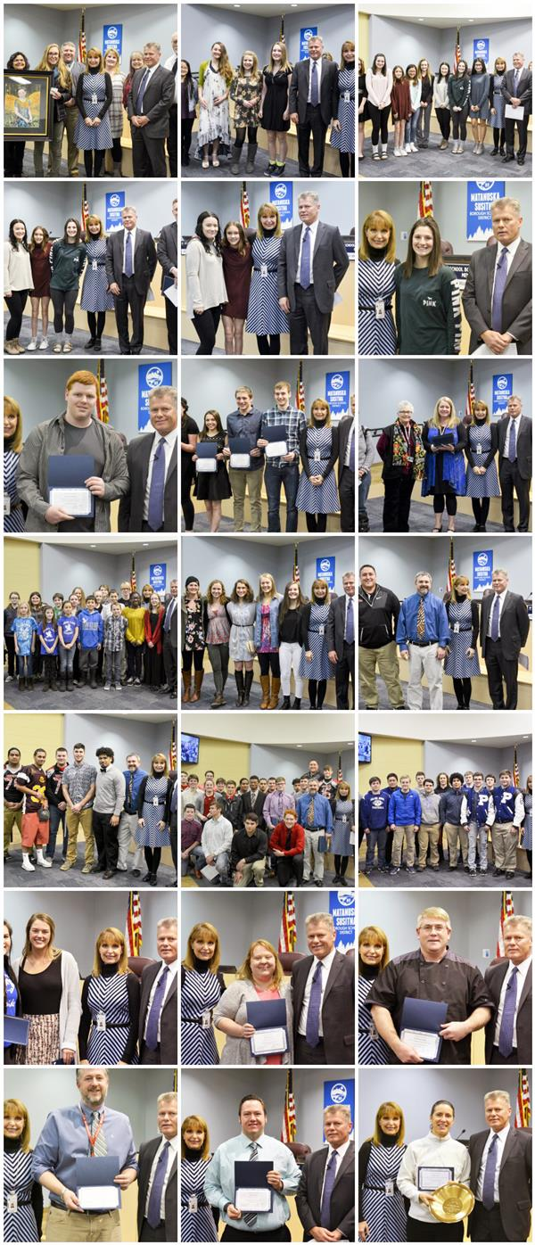 School Board Recognitions Dec 2016