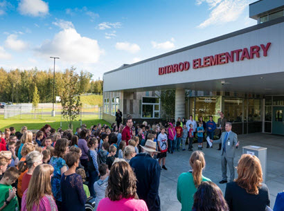 IDITAROD ELEMENTARY SCHOOL OPENS AT NEW FACILITY