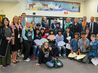 PJMS AND PHS WELCOME SAROMA STUDENTS FOR 37 YEAR ANNIVERSARY OF SISTER CITY