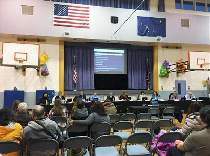 SCHOOL BOARD RECEIVES BOND PROJECT UPDATE FROM MSB PROJECT MANAGER, JEFF WALDEN