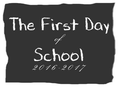 AUGUST 15 IS FIRST DAY OF SCHOOL