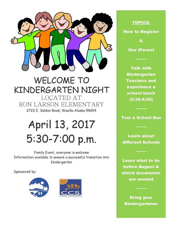 Kindergarten Night