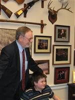 D.C. trip with Congressman Don Young