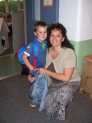 Mrs. Mattson and her son