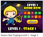 DanceMat Level 1 Stage 1