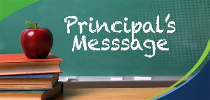 Principals message