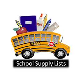MSBSD SCHOOL SUPPLY LISTS