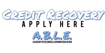Apply for Credit Recovery
