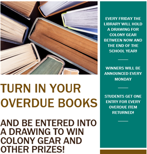 Turn in your overdue books