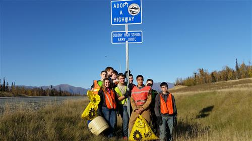 Highway Cleanup Fall 2014