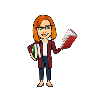 book bitmoji