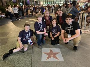 Alaska Association Star on Walk of Fame at BPA NLC 2019