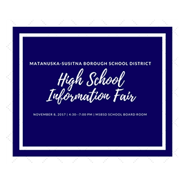 2017 High School Information Fair