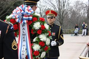 PHS Wreath at Tomb of the Unknown