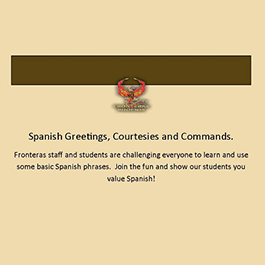 SPANISH GREETINGS, COURTESIES AND COMMANDS
