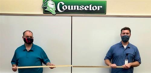CMS School Counselors Mr. Anderton and Mr. Parker