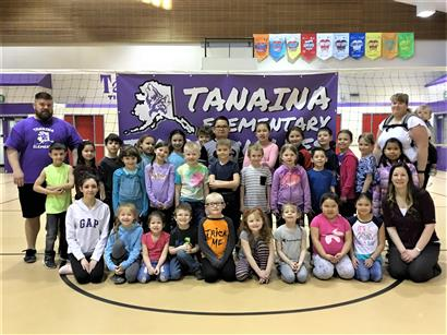 2019 Tanaina Elementary K - 3 Volleyball Club