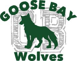 Goose Bay Elementary's Wolf Logo