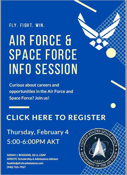 Air Force & Space Force Info